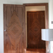 Walnut Diamond Inlayed Veneered Doors