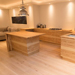 Olive Ash Veneered Kitchen