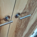 Emmanuel Handle On Olive Ash Veneered Doors